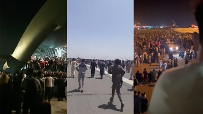 Χάος στην Καμπούλ - Ποδοπατούνται και συνθλίβονται χιλιάδες Αφγανοί στην έξοδο από τη χώρα, προελαύνουν οι Taliban
