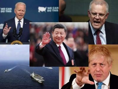 Τεκτονικές αλλαγές στο γεωπολιτικό σκηνικό από τη συμφωνία AUKUS - Τα σχέδια Biden και η αντίδραση του Πεκίνου