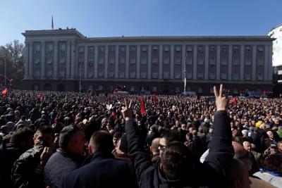 Αλβανία: Νέα διαδήλωση κατά του Rama έχει προγραμματίσει για σήμερα (16/3) η αντιπολίτευση - Φόβοι για επεισόδια
