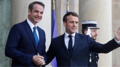 FAZ: O Γάλλος πρωθυπουργός Μacron θέλει να προστατεύσει την Ελλάδα