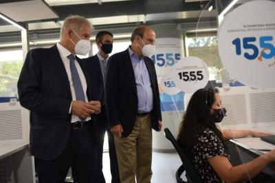 Νέες υπηρεσίες στον τετραψήφιο αριθμό 1555