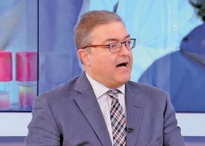 Βασιλακόπουλος: Αν δεν εμβολιαστούμε, θα είμαστε ελεύθεροι υπό προϋποθέσεις