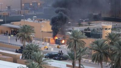 Ιράκ: Επτά ρουκέτες ενάντια σε βάση όπου σταθμεύουν στρατιώτες των ΗΠΑ