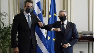 Μητσοτάκης: Συνεχιζόμενη η παραβατικότητα και η προκλητικότητα της Τουρκίας απέναντι σε Ελλάδα, Κύπρο