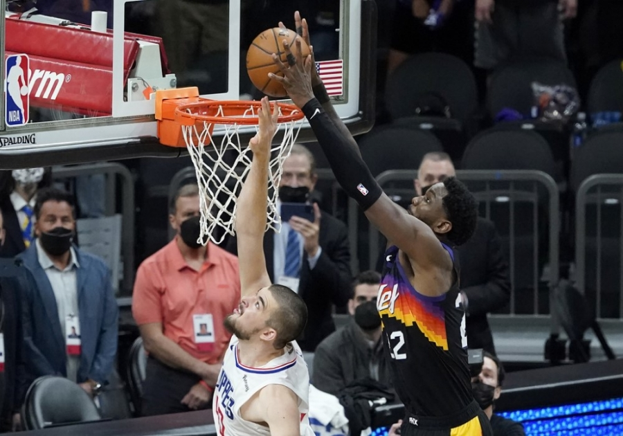 Suns- Clippers 104-103: Ayton στο alley oop και… 2-0 το Phoenix!