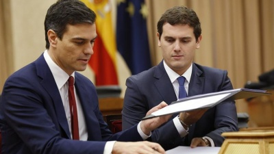 Ο Sanchez απορρίπτει τις προτάσεις των Ciudadanos για σχηματισμό κυβέρνησης