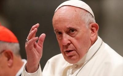 Παρέμβαση πάπα Φραγκίσκου για την Ανατολική Μεσόγειο: Απευθύνω έκκληση για διάλογο και σεβασμό του Διεθνούς Δικαίου