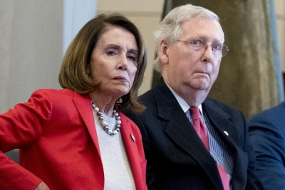 ΗΠΑ: McConell  (Γερουσία) και Pelosi (Δημοκρατικοί) δεσμεύτηκαν για άμεση συμφωνία στα μέτρα τόνωσης της οικονομίας