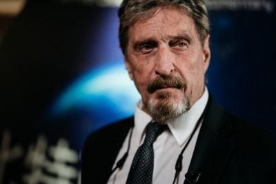 Ισπανία: Συνελήφθη για φοροδιαφυγή ο μεγιστάνας του λογισμικού κατά των ιών, J. McAfee