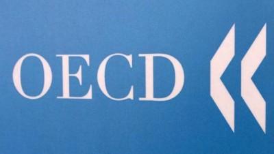 ΟΟΣΑ: Στο -8% η ύφεση της ελληνικής οικονομίας το 2020, στο -9,8% εάν υπάρξει δεύτερο κύμα πανδημίας