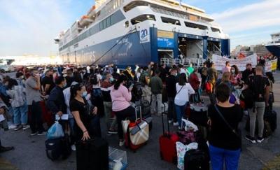 Λήγει στις 09:00 το απεργιακό μπλόκο στο λιμάνι του Πειραιά - Κανονικά η αναχώρηση των πλοίων