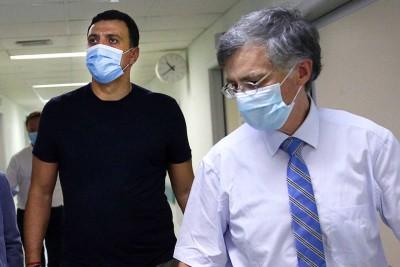 Κικίλιας - Τσιόδρας: Ενημέρωσαν τα κόμματα της αντιπολίτευσης για την πορεία της πανδημίας και την ετοιμότητα του ΕΣΥ