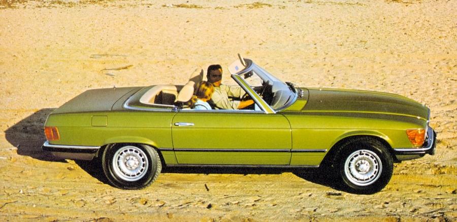 H Mercedes-Benz SL R107 έγινε ετών 50