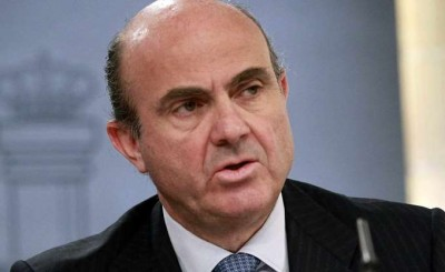 De Guindos (ΕΚΤ): Απίθανη η ανάκαμψη των ευρωπαϊκών τραπεζών πριν από το 2022