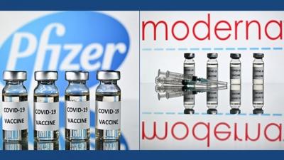 Έρευνα: Στο 66% η αποτελεσματικότητα των Pfizer και Moderna κατά της παράλλαξης Delta του κορωνοϊού