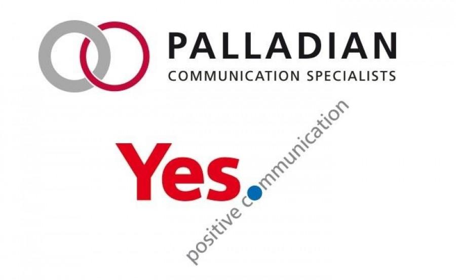 Συνενώνονται οι εταιρίες επικοινωνίας Palladian και Yes. Positive