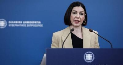 Πελώνη (κυβερνητική εκπρόσωπος) κατά Τσίπρα (ΣΥΡΙΖΑ): Επαναλαμβάνει τα ίδια ψέματα