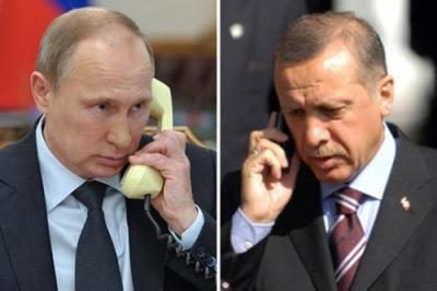 Επίκεινται συνομιλίες Putin - Erdogan για τη Συρία