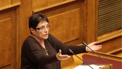 Παπαρήγα: Στόχος το ΚΚΕ να βγει στην κάλπη πιο δυνατό