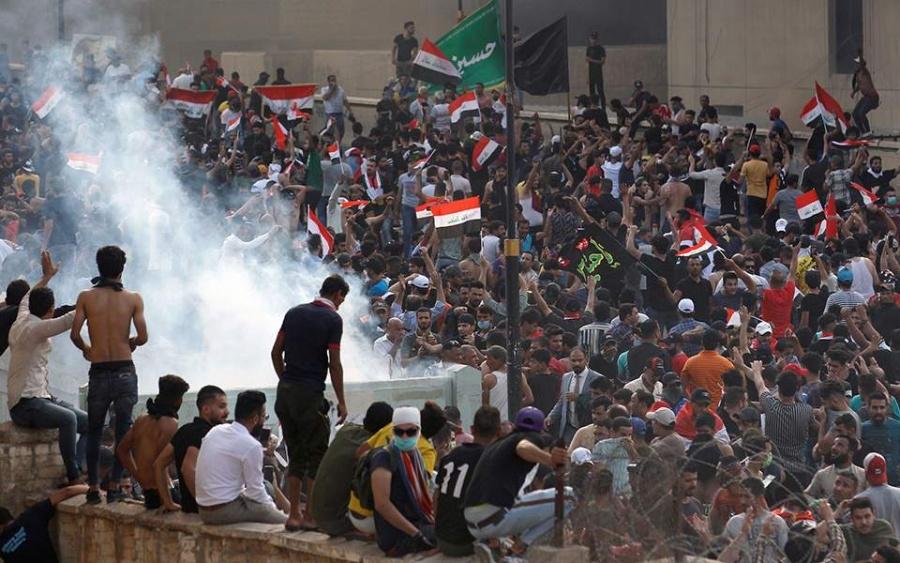 Έκρυθμη η κατάσταση στο Ιράκ -  Πάνω από οι 100 νεκροί και 4.000 οι τραυματίες στις αντικυβερνητικές διαδηλώσεις