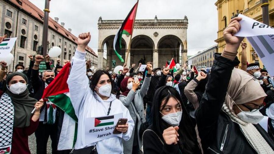 Μεσανατολικό - Γερμανία: Διαδηλώσεις κατά του Ισραήλ στη Γερμανία
