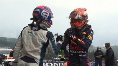 GP Βελγίου – Κατατακτήριες: Ο Φερστάπεν στην pole position μπροστά από τον Ράσελ!