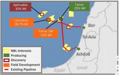 Η συμμαχία Chevron - Noble αναβαθμίζει το ρόλο του Ισραήλ στο φυσικό αέριο της Αν. Μεσογείου