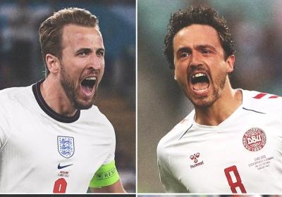 EURO 2020: Η «ιστορική» ευκαιρία της Αγγλίας να τελειώσει το παραμύθι της Δανίας!