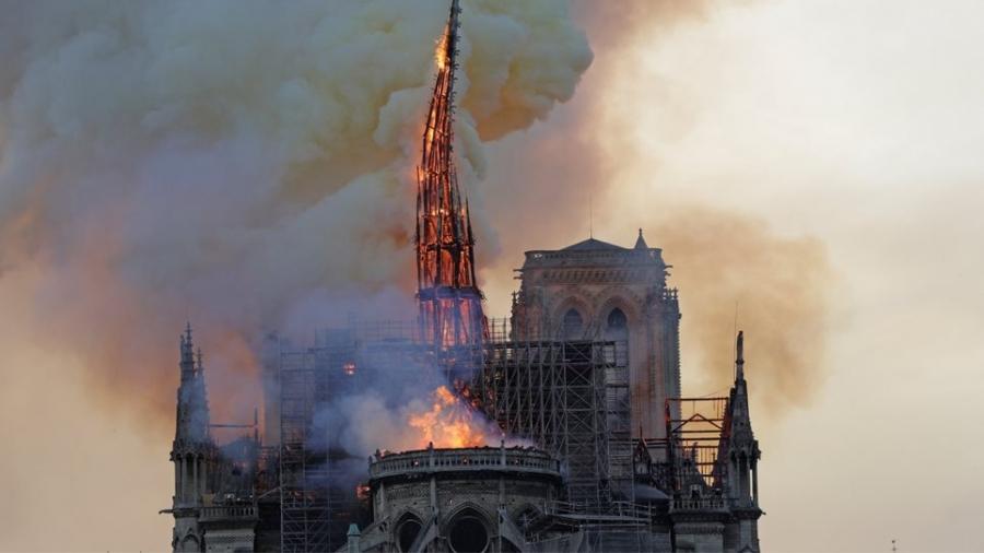 Γαλλία: Ξεκινά η αποκατάσταση της Παναγίας των Παρισιών - Στόχος να είναι έτοιμη ως τους Ολυμπιακούς Αγώνες το 2024