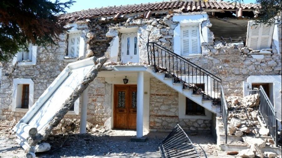 Θεσσαλία: Μη κατοικήσιμα σχεδόν 900 σπίτια στις σεισμόπληκτες περιοχές