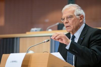Borrell σε Δένδια: Έτοιμοι να προστατεύσουμε τα συμφέροντα των κρατών - μελών