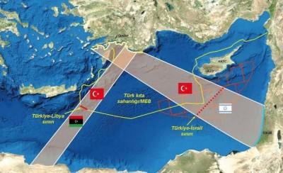 H Τουρκία προκαλεί με την Γαλάζια Πατρίδα και με σχέδια για νέες ΑΟΖ ώστε να αποκλείσουν Ελλάδα και Κύπρο
