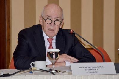 Ρουμελιώτης: Τα δάνεια των πολιτικών κομμάτων επιστρέφουν άμεσα στη διαχείριση της Attica Bank