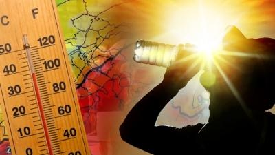 Συνεχίζεται και σήμερα 4/8 ο καύσωνας - Στο κόκκινο το θερμόμετρο