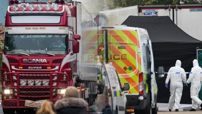 Βρετανία: Ένοχοι δύο άνδρες για τον θάνατο 39 μεταναστών σε φορτηγό ψυγείο