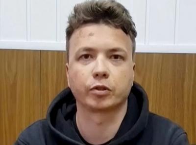 O Protasevich ομολογεί την ενοχή του με κλάματα - Βία καταγγέλλει η οικογένειά του