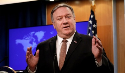 Pompeo: Οι ΗΠΑ θα αναλάβουν περισσότερες δράσεις στήριξης του J.Guaido