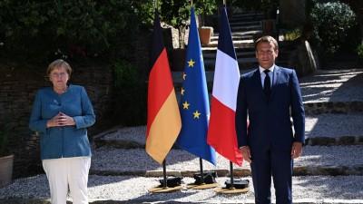 Merkel - Macron για τουρκική προκλητικότητα: Εκφράζουμε την αλληλεγγύη μας σε Ελλάδα και Κύπρο - Δεν θα ανεχθούμε καμία απειλή