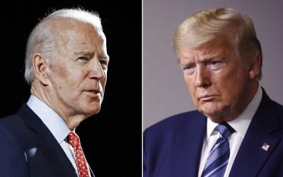 Με διαφορά 8,1% προηγείται ο Biden 49,8% έναντι του Trump 41,7% - Κορωνοιός και ταραχές λόγω Floyd έπληξαν τον Trump