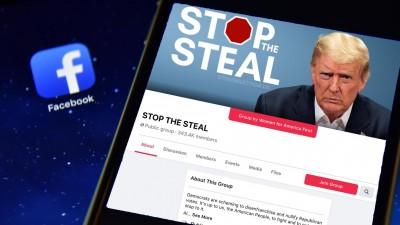 «Stop the Steal»: Ομάδα στο Facebook υπέρ του Trump με 1.000 νέα μέλη ανά 10 δευτερόλεπτα