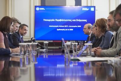 Σύσκεψη για απολιγνιτοποίηση - Μητσοτάκης: Η απεξάρτηση από το ρυπογόνο λιγνίτη είναι προς το συμφέρον των κοινωνιών