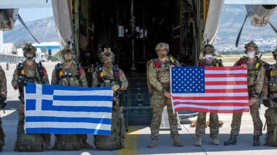 Διμερής άσκηση «Stolen Cerberus» με τη συμμετοχή Ενόπλων Δυνάμεων Ελλάδας και ΗΠΑ