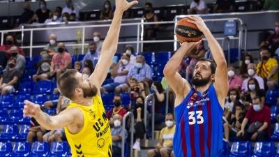 Μπαρτσελόνα - Μούρθια 85-78: Αγχωτική νίκη για τους «μπλαουγκράνα»