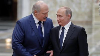 Συνάντηση Putin - Lukashenko στη σκιά της κόντρας με τη Δύση για την «αεροπειρατεία»