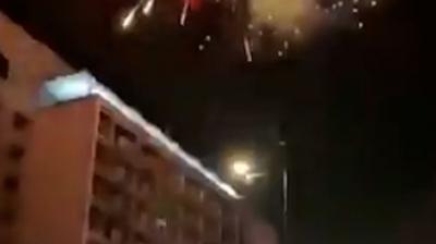 Οι οπαδοί της Αϊντχόφεν ξύπνησαν τους παίκτες της Μπενφίκα με βεγγαλικά! (video)