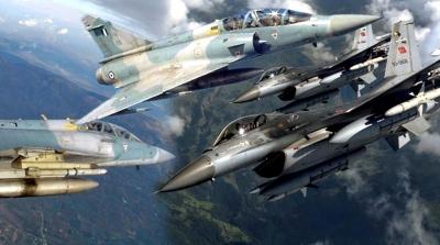 Νέο κρεσέντο παραβιάσεων του ελληνικού εναέριου χώρου από τουρκικά F 16