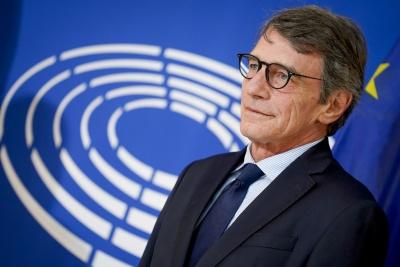 Σκληρή κριτική Sassoli (πρόεδρος Ευρωβουλής) για Σύνοδο Κορυφής: «Κοντόφθαλμοι εγωιστές»