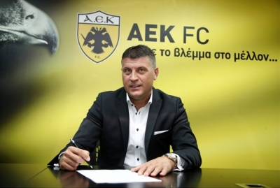 Μιλόγεβιτς: «Η ΑΕΚ από τη φύση της πρέπει να πρωταγωνιστεί» (video)