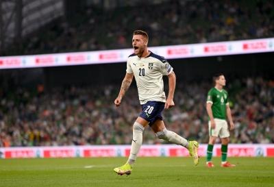 Ιρλανδία – Σερβία 0-1: Με τρομερή κεφαλιά του Μιλίνκοβιτς Σάβιτς το προβάδισμα των φιλοξενούμενων (video)