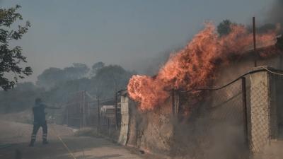 «Φουντώνει» το κόστος των ασφαλιστικών εταιρειών  – 73  επιχειρήσεις κάηκαν στην Αττική